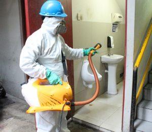 Limpieza de comunidades Santa Isabel